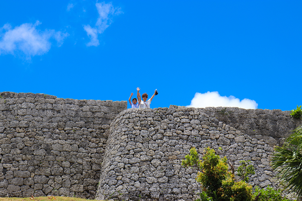世界遺産勝連城跡