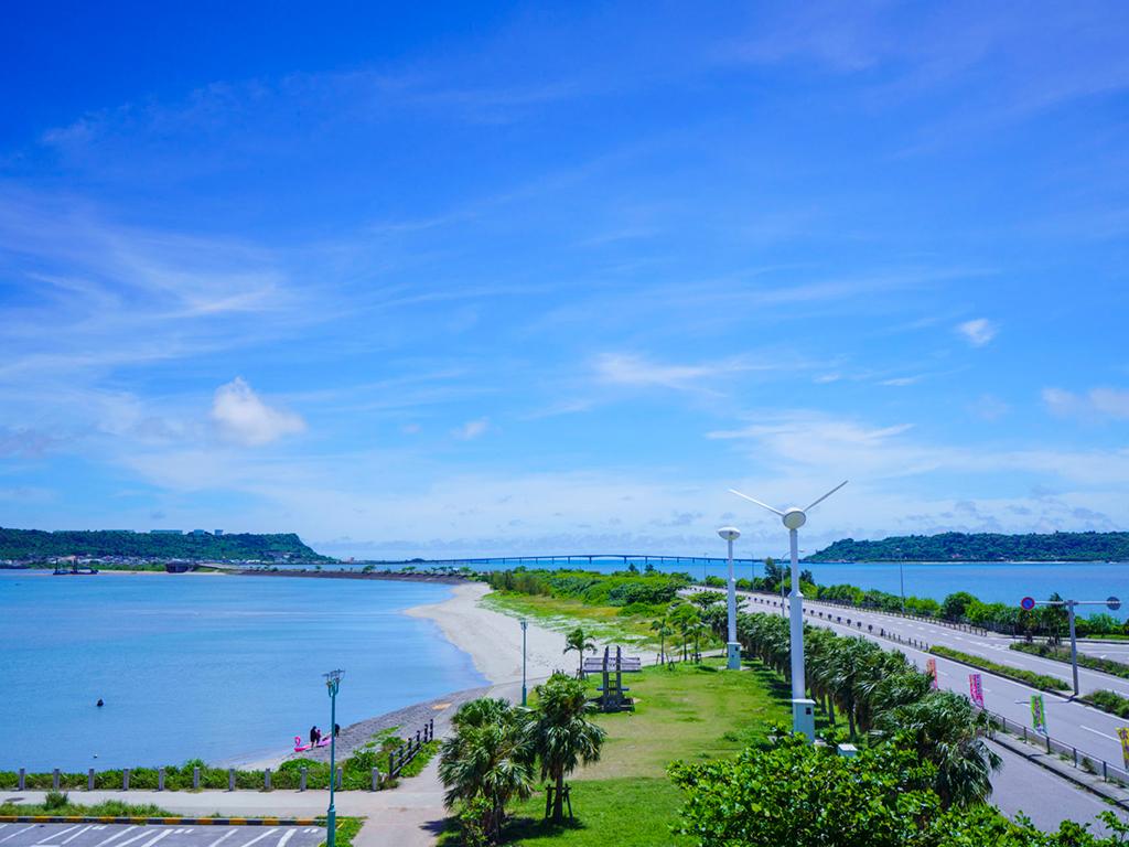 海中道路風景