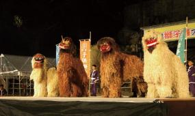 うるま市の獅子舞